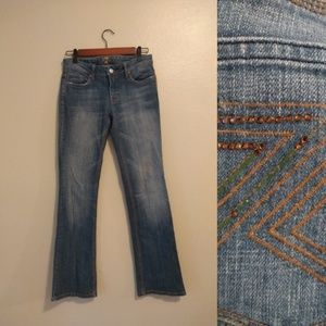 7 For All Mankind Medium Wash Boot Cut Jeans 26